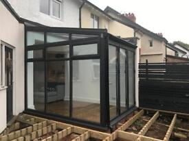Clearview Conservatory with Bi-Fold Doors