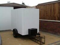 car trailer / box trailer