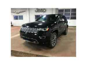 2018 Jeep Grand Cherokee Overland 4X4 Heated & Cooled Leather /