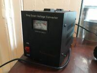 Voltage Converter - 2000VA step down converter 240v-120v