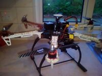 DJI F550 Professional Drone. gimbal, gopro hero 3 and 1000mw live view video sender SWAP WHY