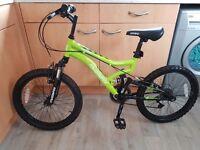 20 inch Dual Suspension Bike - Boys £70 ono