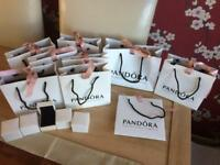 Large pandora bundle gift bags & boxes