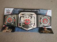 ***NEW*** Mattel WWE UK Championship Belt signed by Tyler Belt