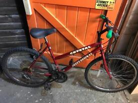 Ladies Bike, Fully Serviced, Good condition. Free Lock, Lights, Delivery