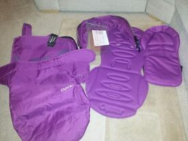 Grape colour pack for Oyster 2/max main seat