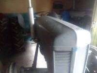 Grey Ferguson Petrol Tractor