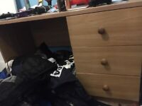 A good quality desk only £10(quick sale)+free chair