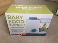 Von shef baby food blender new