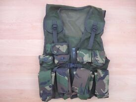 KIDS ARMY VEST - DPM CAMO MILITARY - CAN POST FOR £2.99!
