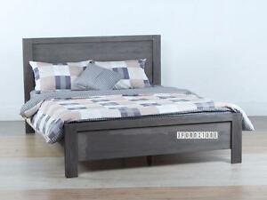 ifurniture Warehouse Sale -- Acacia Solid Wood queen bed for $299