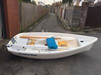 Walker Bay 10 ft dinghy for rowing, sailing or motoring. All accessories included. £950 ONO