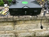 Xbox For Sale with Games and Controllers
