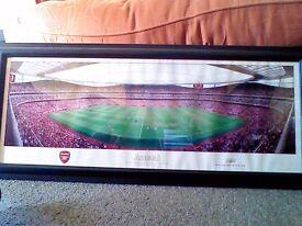 Arsenal stadium panoramic photo