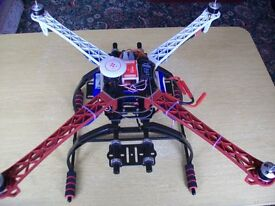 Brand New 600 size drone ideal to take gimbals and cameras