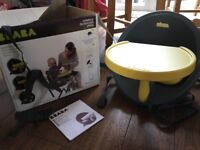 Toddler/Childs Booster Seat Highchair by Beaba