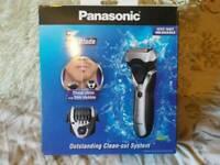 Panasonic wet/dry shaver new