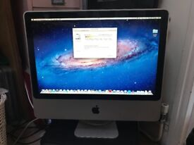 APPLE IMAC 20 inch 2.4Ghz Intel Core 2 Duo 256GB SOLID STATE - VERY GOOD CONDITION 2008