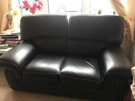 Black Sofa 2/3 seater