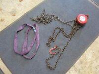 1 Ton Eaton Chain Hoist with Lifting Straps