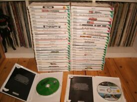 Wii Games Bundle 50 In Total Huge Lot Plus Extras £50