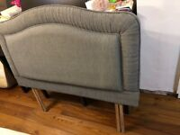 Padded headboard for 4ft small double bed New
