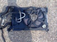 vauxhall corsa d 1.2/1.4 radiator pack