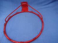 Red unused Basketball Hoop