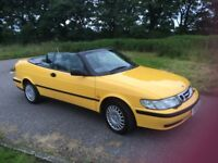 CLASSIC SAAB 93 AERO CONVERTIBLE IN MUCH SOUGHT AFTER 'MIAMI YELLOW' COLOUR. STUNNING APPEARANCE!