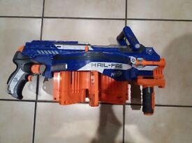 Nerf Hail Fire Gun