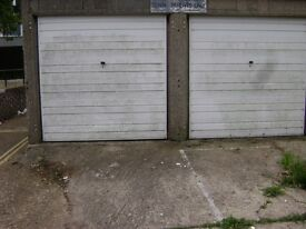 Secure garage and driveway close to city centre