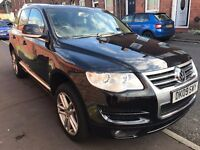 VOLKSWAGEN TOUAREG 4X4 3.O V6 ALTITUDE -CRUISE CONTROL-SAT NAV -FULLY LOADED