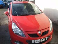 BREAKING 2008 CORSA VXR TURBO WILL SELL SHELL MOST PARTS STILL HERE CAN POST PARTS