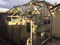 Greenhouse W193 x L254 x H208cm - Free