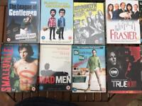 Dvd box sets - mix of titles and seasons