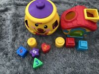 Fisher Price Laugh and Learn Cookie Shapes Sorter