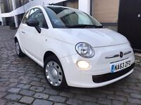 2013 Fiat 500 Pop 1.2 Special Leather Interior, 7000 Miles, 1 Owner from New