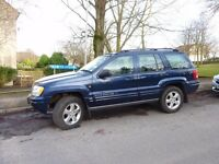 JEEP GRAND CHEROKEE 2.7 CRD DIESEL AUTOMATIC LIMITED