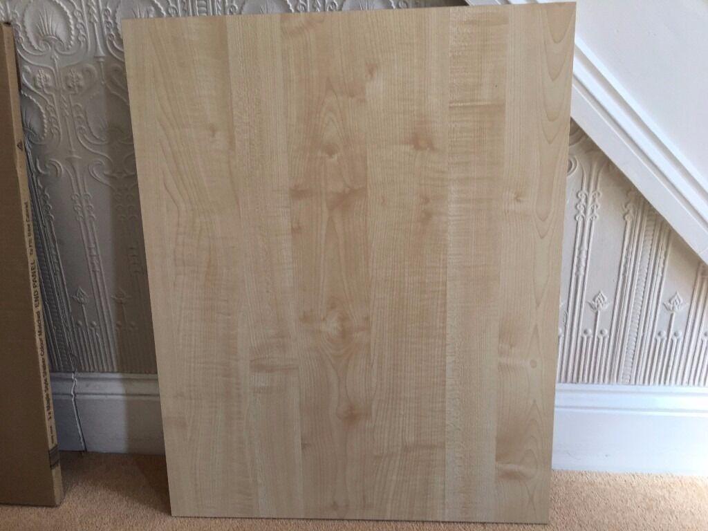 Kitchen Unit Maple Shaker Style Base Cabinet End Panel