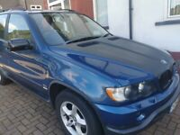 BMW X5 E53 3.0i Blue Petrol Auto 2001