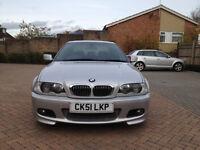2001 (51) BMW 330CI SILVER FULLY LOADED NEW MOT