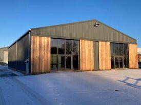 NEW barn conversion unit 1350sqft, £750+VAT.