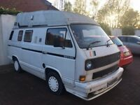 VW T25 Camper Van - Orginal conversion Caravelle 78PS
