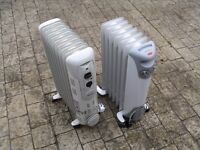 Dimplex oiled filled heaters x 2