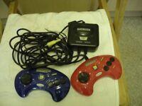 Sega mega drive soccer game