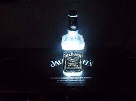 70cl Jack Daniels LED Bottle Lamp