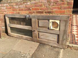 Hardwood Exterior Door 194x76.5x4.5cm