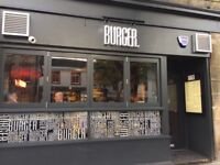BURGER. Kitchen Staff Needed
