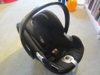 Cybex Aton Q Car Seat from birth to approx 18 months/13 kg