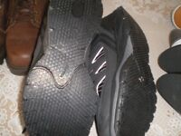 MENS TRAINERS AND SHOES SIZE 8 . NEW X 2 pairs